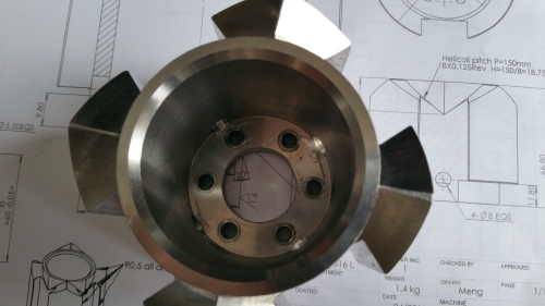 pieces en inox mécanique service de précision